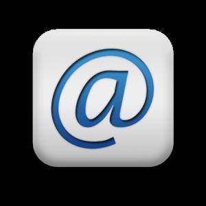 116463-matte-blue-and-white-square-icon-alphanumeric-at-sign