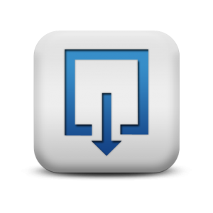 118286-matte-blue-and-white-square-icon-symbols-shapes-square-download