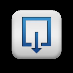 118286-matte-blue-and-white-square-icon-symbols-shapes-square-download